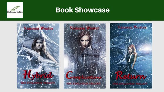 Book Showcase: The Evolution Trilogy by Vanessa Wester