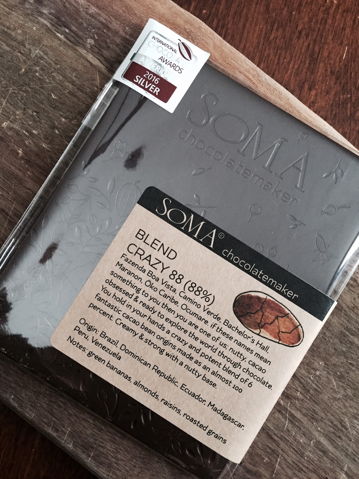 The Ultimate Chocolate Blog: Chocolate of the Day (Day 4): Soma's