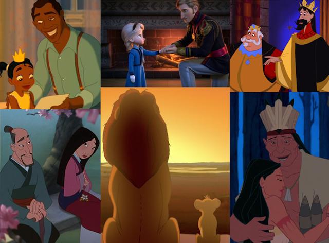 Os Pais da Disney