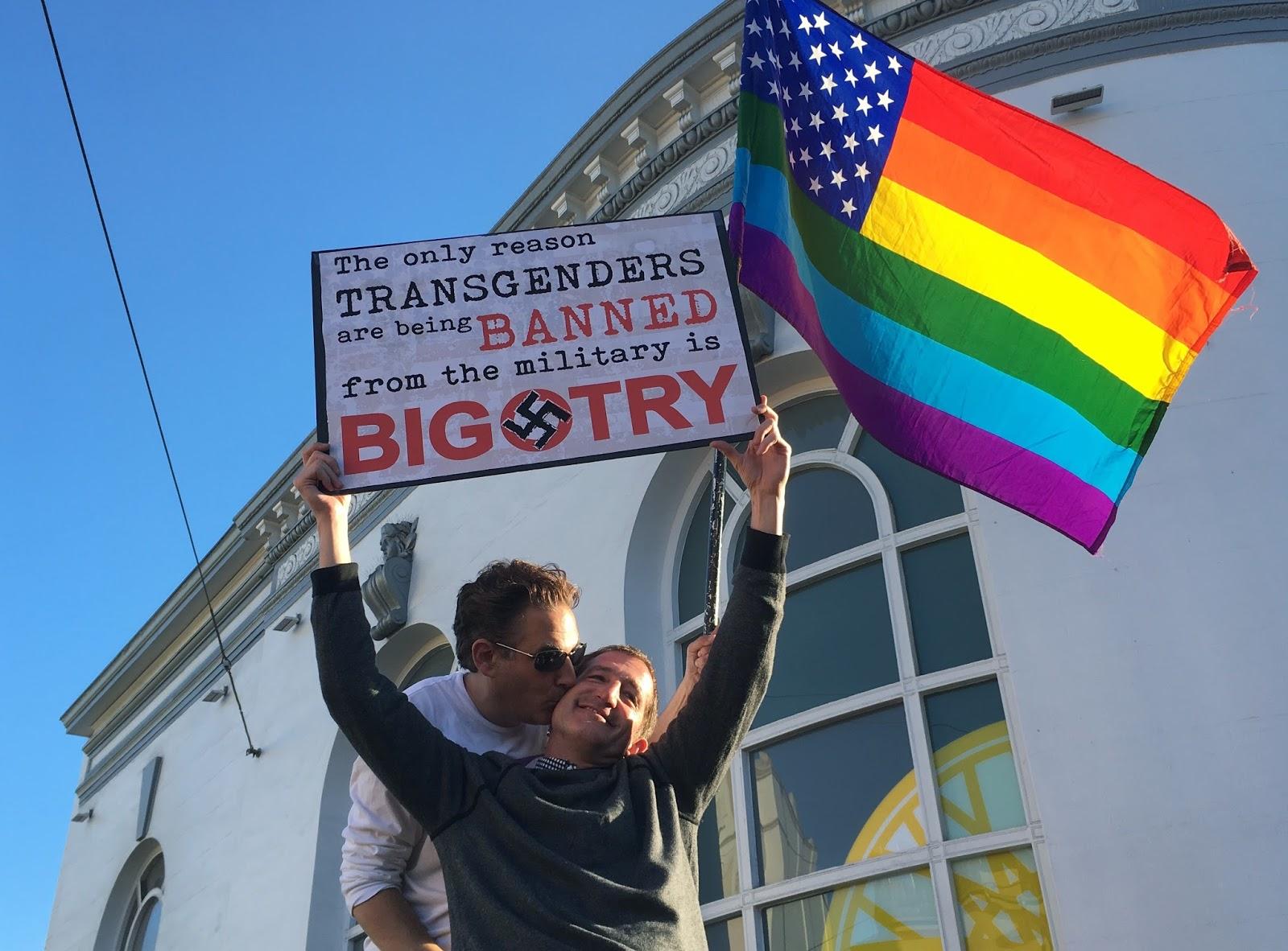 Revoltados, defensores dos direitos LGBT dizem ter visto Trump 'como ele é'