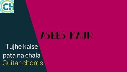 TUJHE KAISE PATA NA CHALA Guitar Chords ACCURATE | ASEES KAUR | MEET BROS