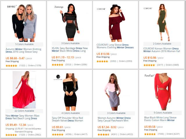 Winter Dresses AliExpress Shop Online Low Prices