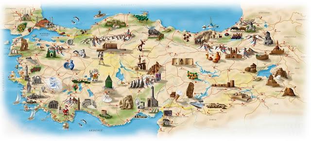 Türkiye tatil yerleri