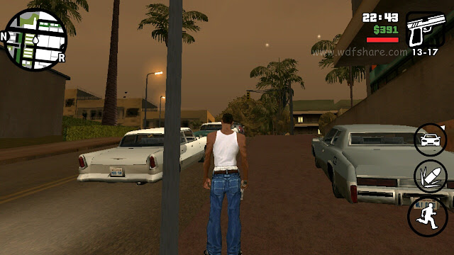 Grand Theft Auto San andreas android full