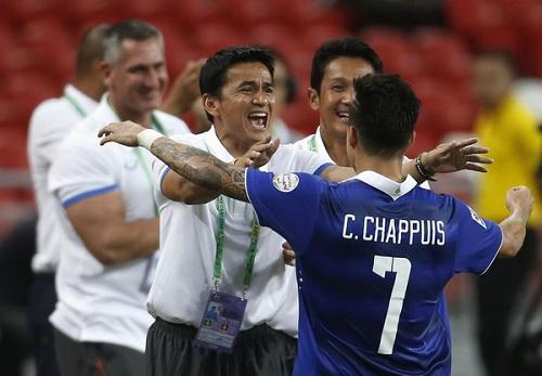 Thái Lan hướng đến vòng loại World Cup 2018.