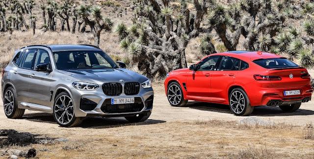 BMWのSUV「X3」と「X4」に初の高性能なMモデル「X3M」「X4M」が登場!