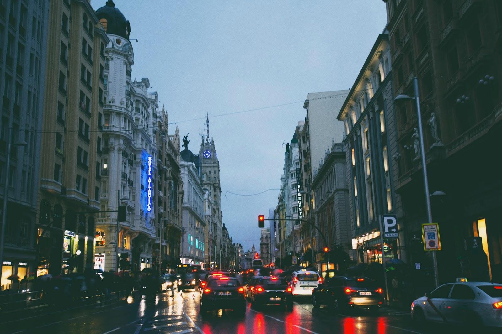 fotografía lluvia