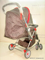 4 Junior L'abeille A181 Triumph Baby Stroller with Rocking Function