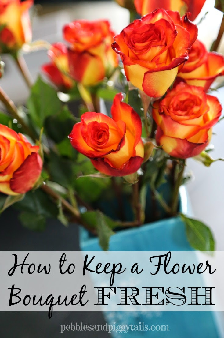 How to keep a flower bouquet fresh making life blissful the hard thing is keeping them fresh and gorgeous as long as possible today ive got some tips to keep your bouquet of flowers looking fresh izmirmasajfo