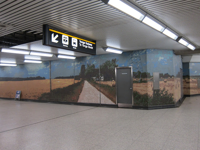 Stacey Spiegel's Immersion Land at Sheppard-Yonge subway.