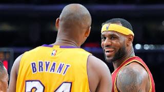 LeBron James Kobe Bryant