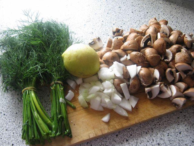 pastaret med laks og spinat