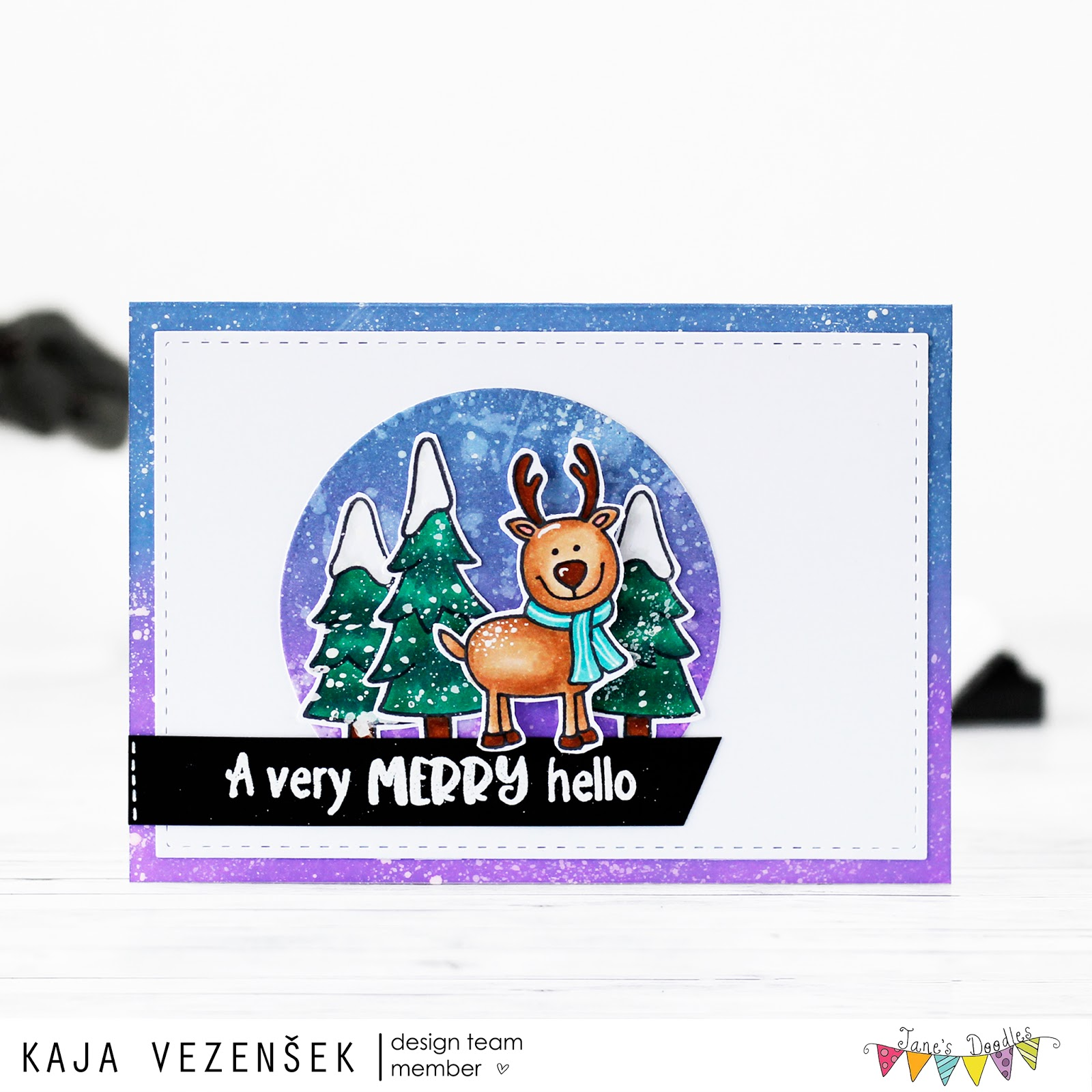 Winter card | JANE'S DOODLES