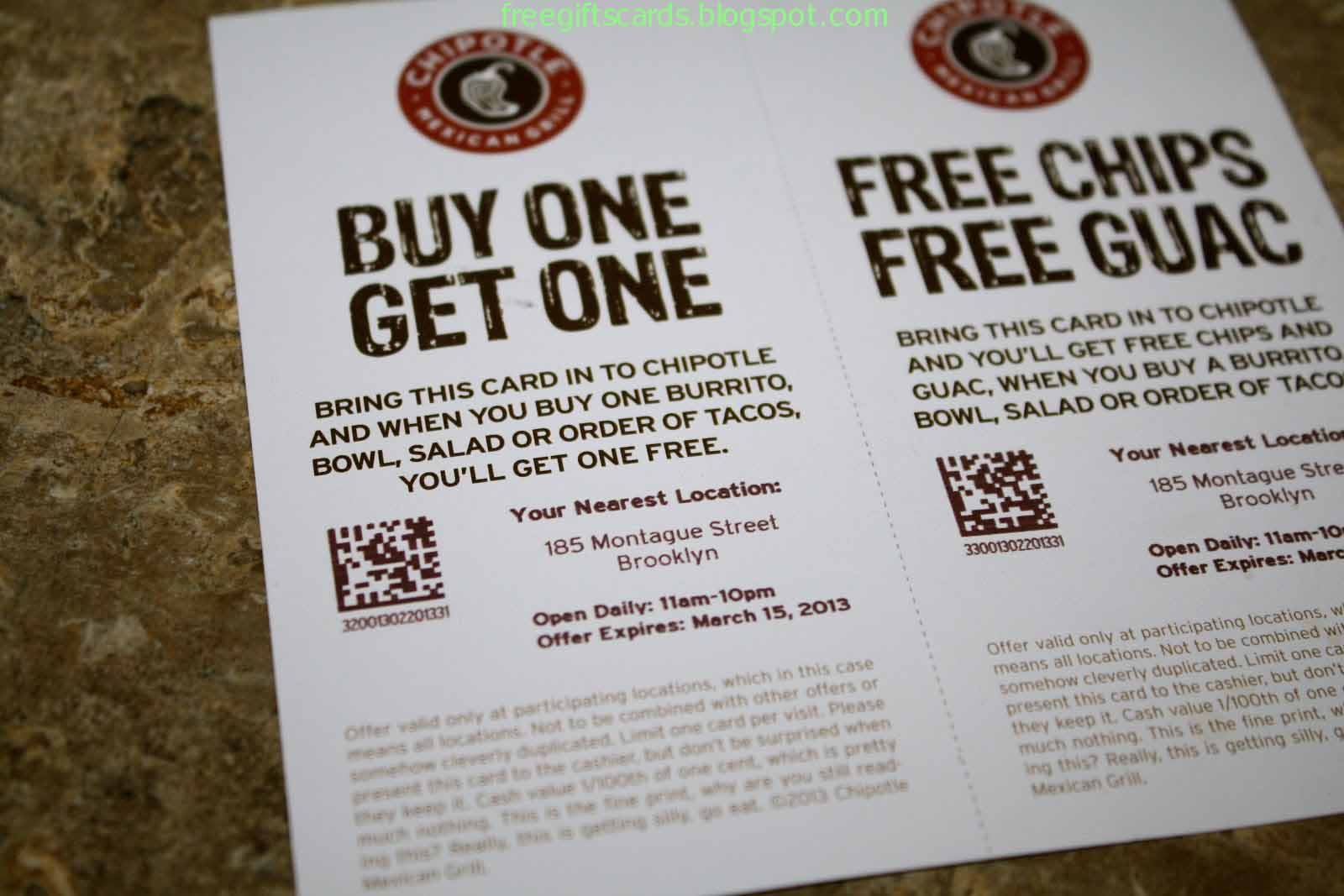 picture about Chipotle Coupons Printable called Price cut Discount coupons and Promo Codes 2019: Chipotle Coupon codes