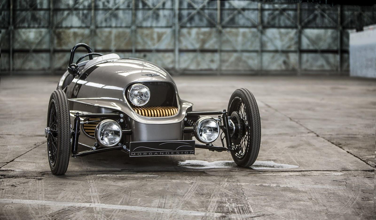 Morgan EV3 2017 sẽ gây được nhiều ấn tượng tại Geneva năm nay