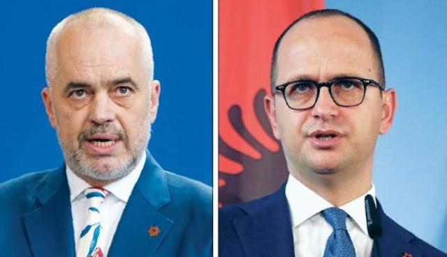 Εντείνεται στην Αλβανία η κόντρα Μέτα - Ράμα για τον υπουργό Εξωτερικών