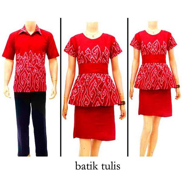 Batik Tulis Dress: Sarimbit Dress Batik Bagoes Solo KODE : SD 2655
