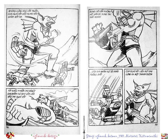 Dũng Sĩ Hesman tập 2 - hesman xuất hiện trang 28