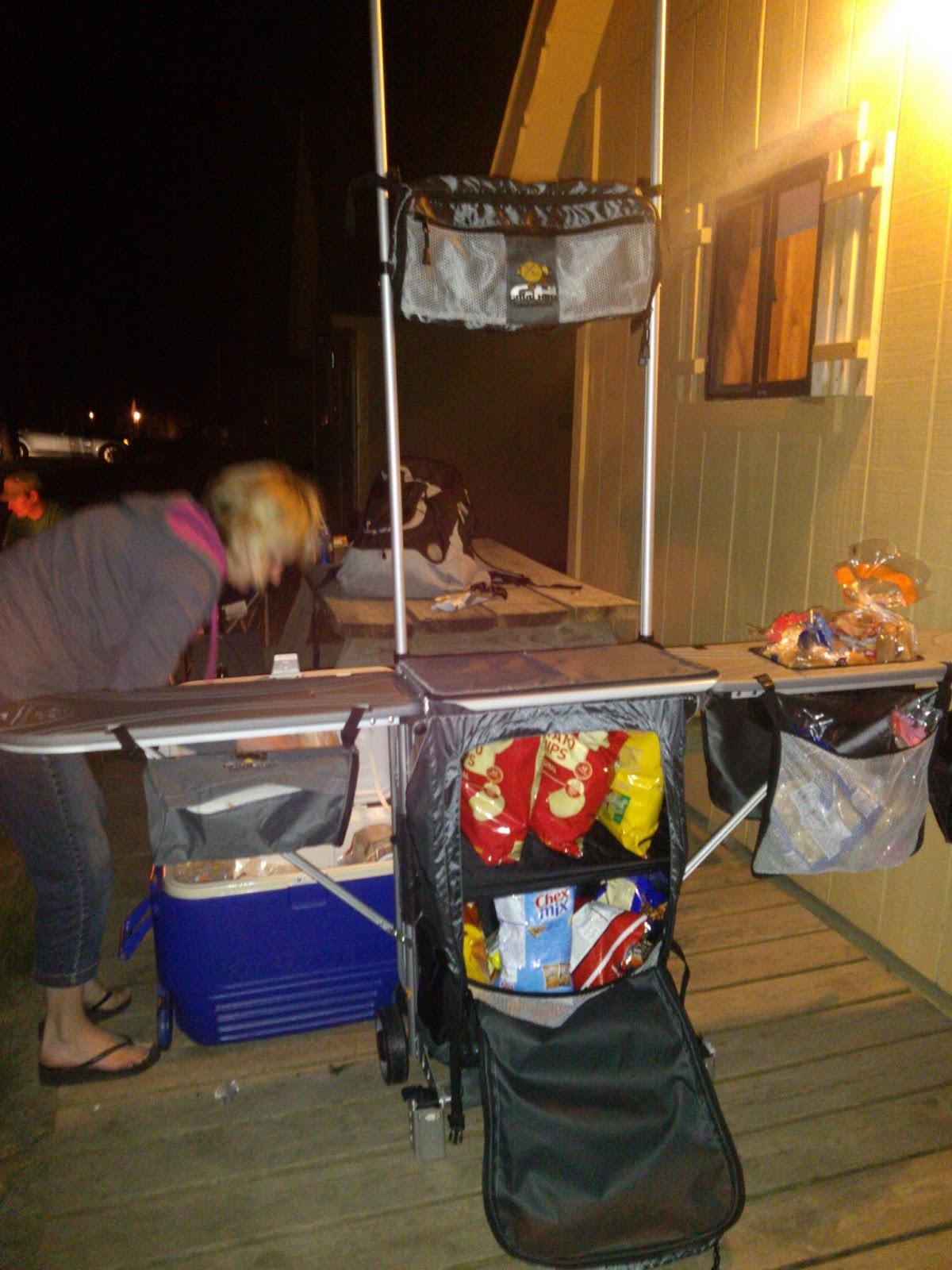 Grub Hub Camp Kitchen Review