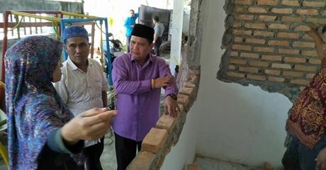 Ketua Komisi III DPRD Kota Padang Tinjau Puskeskel di Tui Kuranji