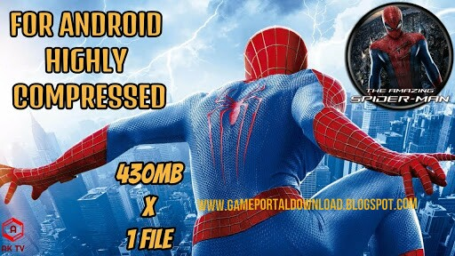 download the amazing spider man 2 apk+data highly compressed