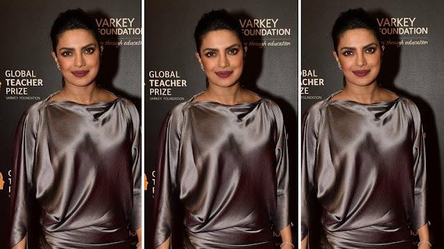 Priyanka Chopra's Glitter Eyes ado