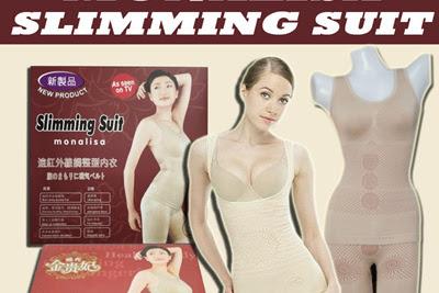 Monalisa Slimming Suit Baju Pelangsing Infra Red