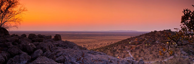 Dolomite Camp Etosha Park Namibia