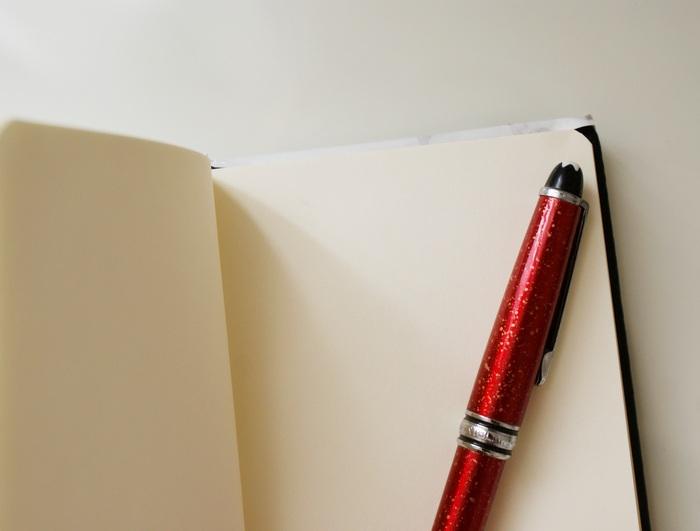diy marble journal notebook