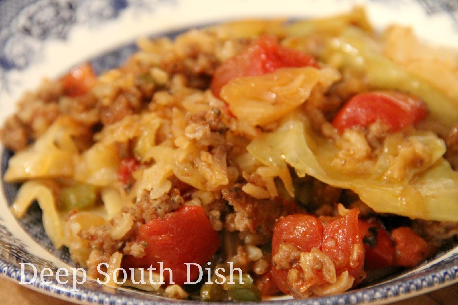 Cabbage Patch Casserole