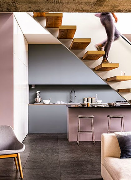 Interior trend 2015 - Pastels - Blue grey, khaki, and neutral pink