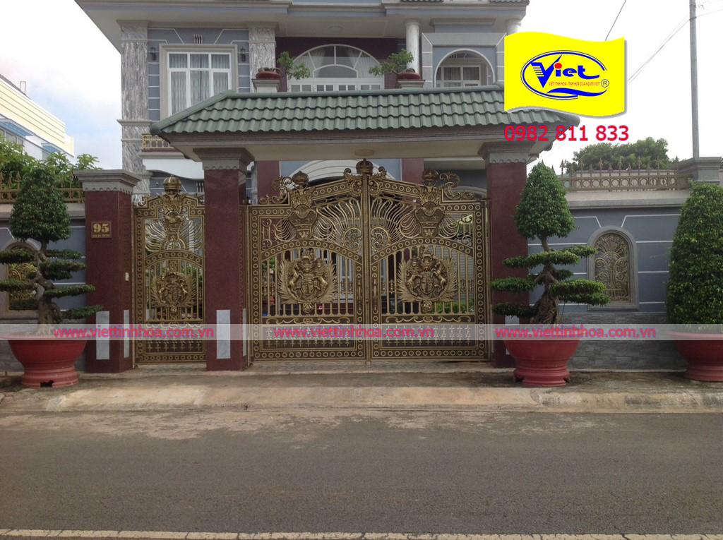 Cổng Nhôm Đúc Long Khánh