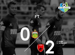 Bhayangkara FC Kalah 0-2 dari PSM Makassar