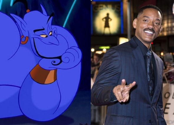 Nueva pelicula Aladino ya tiene personajes  Will Smith sera el Genio