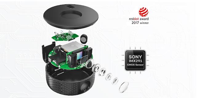 giải thưởng Reddot Design Award cho camera hành trình ô tô VAVA