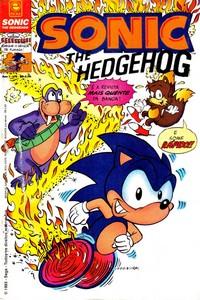 Revista Sonic 5 - Editora Escala