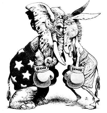 Image result for donkey vs elephant
