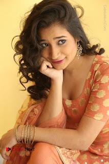 Telugu Actress Santoshi Sharma Latest Stills in Salwar Kameez at HBD Movie Teaser Launch  0071.JPG