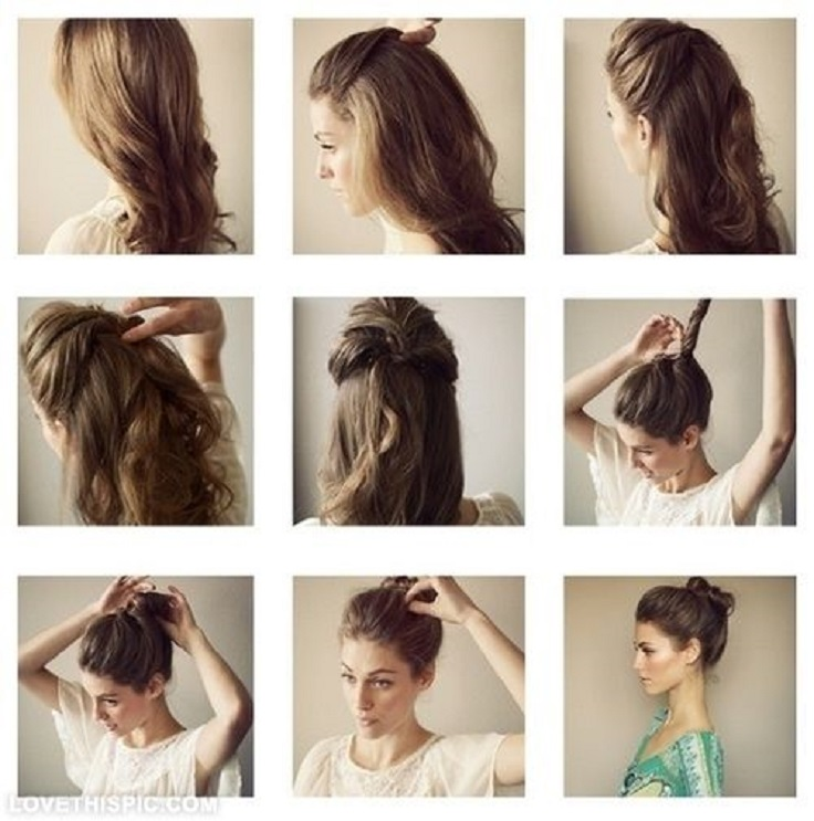 Simple Indian Hairstyles For Party Step By Step Top Model Hairstyle