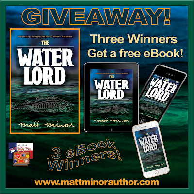 The Water Lord giveaway graphic