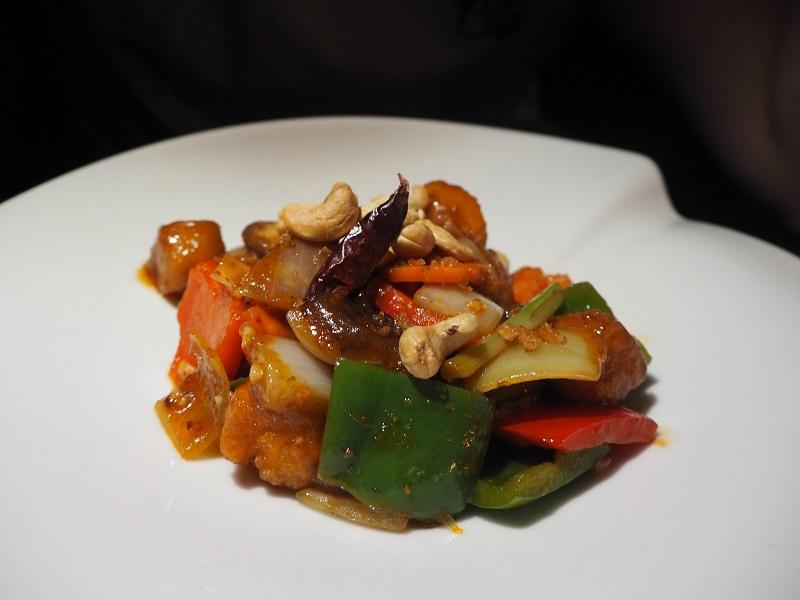 Chaophraya chicken cashew dish