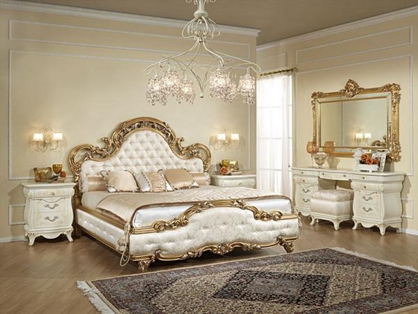 Comment choisir le bon tableau pour son int rieur - Chambre style baroque ...