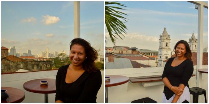 Overlooking Panama City Panama