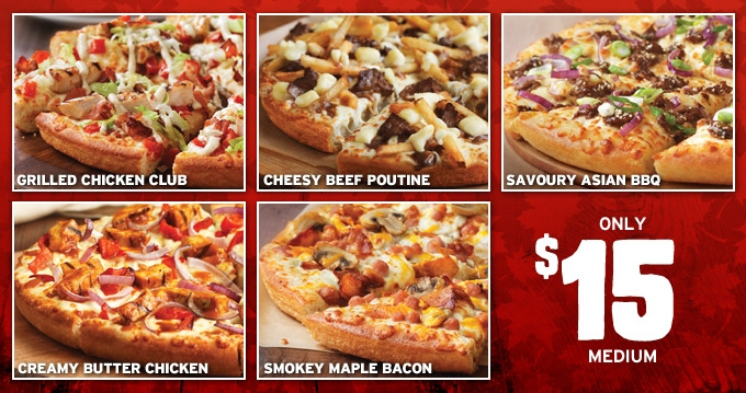 Around The World Pizza Hut Canada Unveils Poutine Pizza Brand Eating