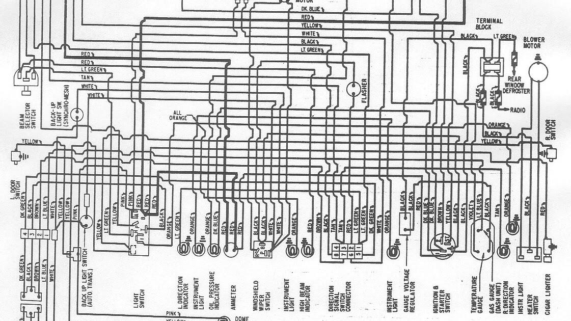 Free Auto Wiring Diagram: 1961Dodge Lancer Wiring Diagram