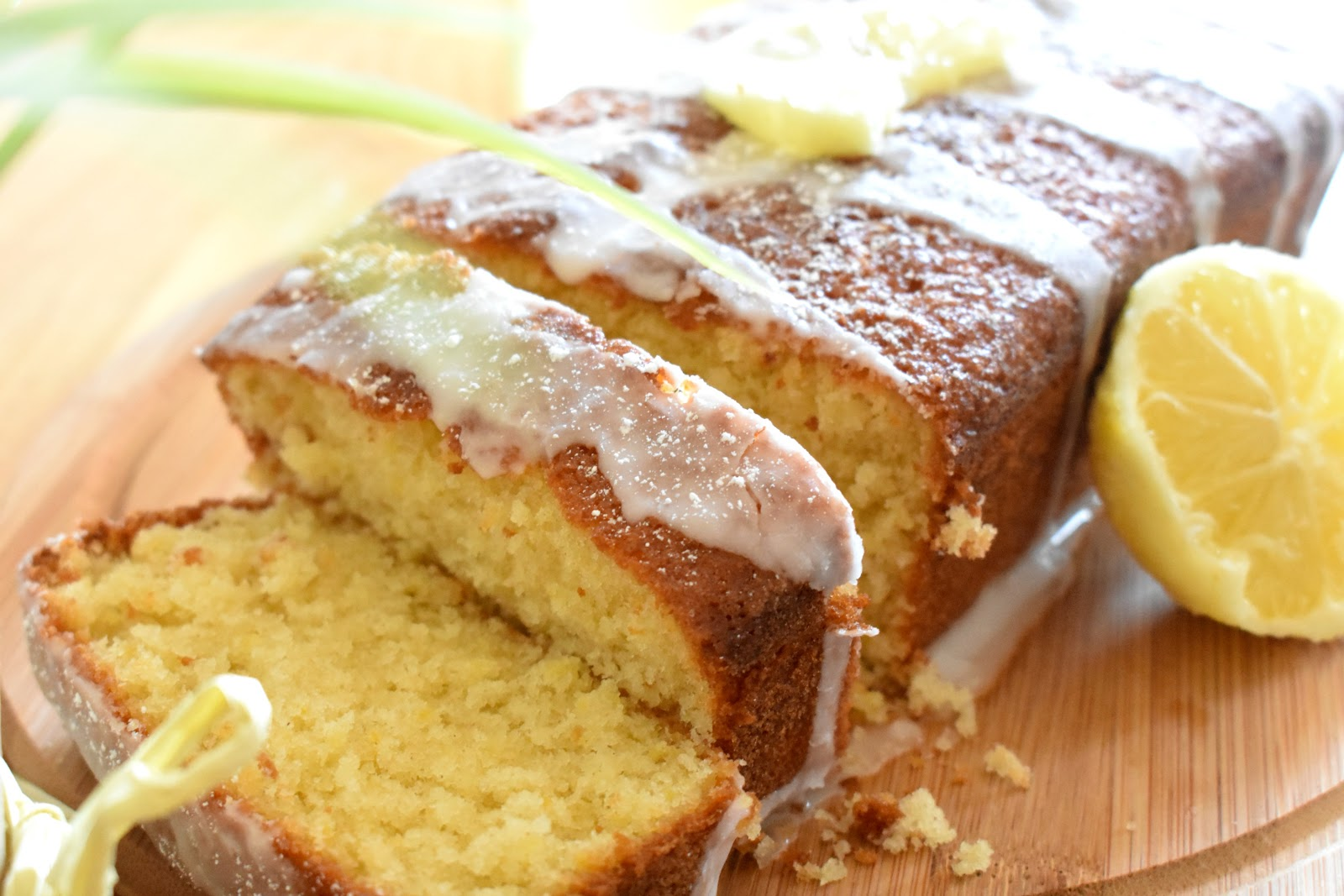 Stork Lemon Drizzle Cake Recipe
