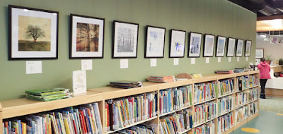 Roots + Wings exhibit by Sara Harley, Margaret Hennigar Public Library