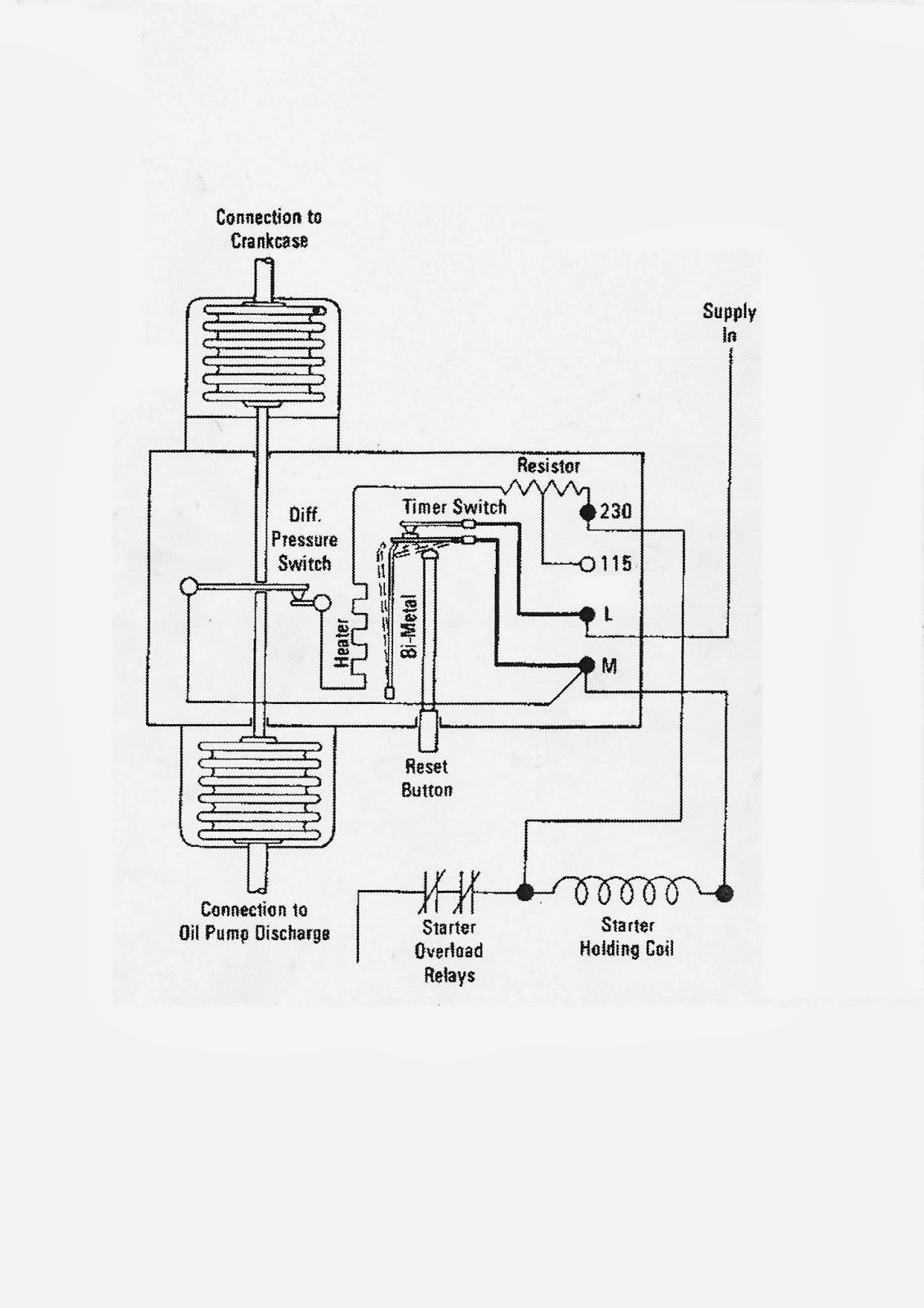 related with oil failure control wiring diagram