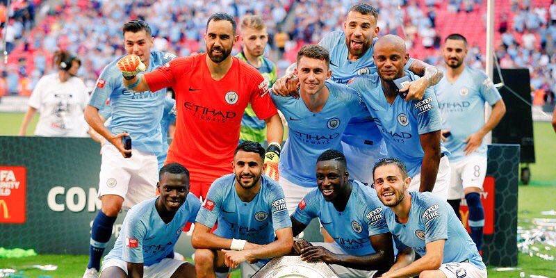 مباراة مانشستر سيتي وايفرتون 15-12-2018 الدوري الانجليزي الممتاز