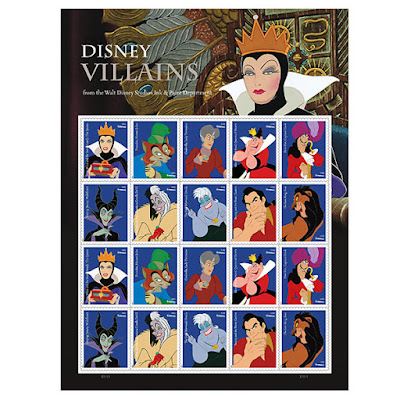 disney-villains-feature-on-new-us-postage-stamps